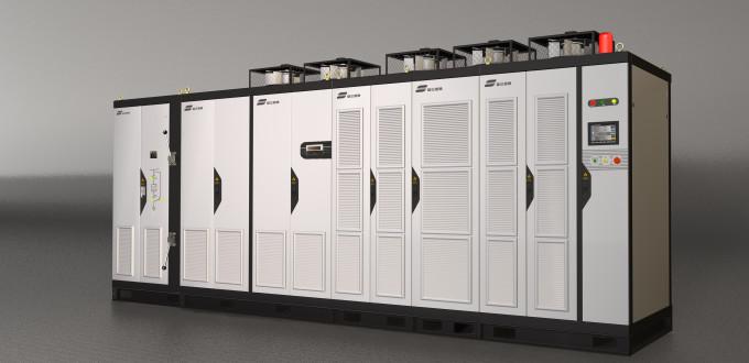 Серия VACON 3000 - новый привод модульной конструкции для применений среднего напряжения.